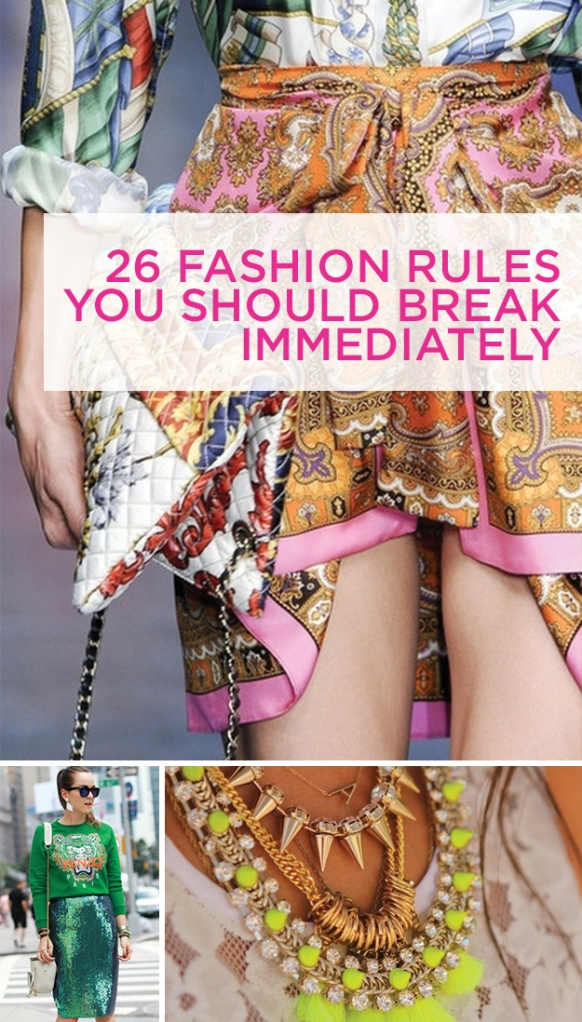 Time to update the wardrobe staples and re-imagine what you can do with your style.  Courtesy of: Buzzfeed.com
